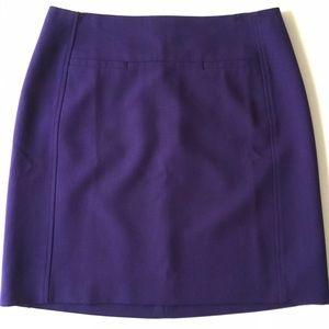 Nwt Ann Taylor LOFT pencil skirt ultra violet